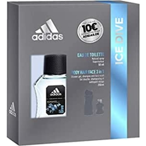 Adidas Adidas Men  Ice Dive Gift Set - Edt 50ml & Douchegel 250ml