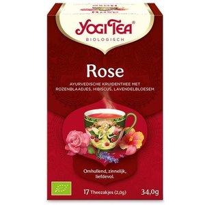 Yogi Tea Yogi Tea Rose - Kruidenthee 17 Zakjes