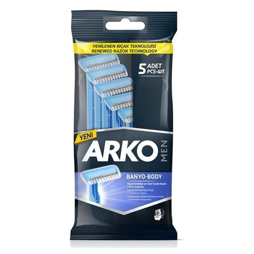 Arko Arko Men Body - Wegwerp Scheermesjes 5 Stuks