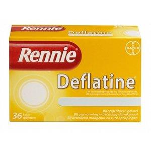 Rennie Rennie Deflatine - 36 Kauwtabletten