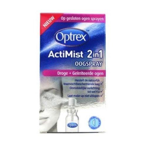 Optrex Optrex Actimist 2 In 1 Droge + Geirriteerde Ogen - Oogspray 10ml