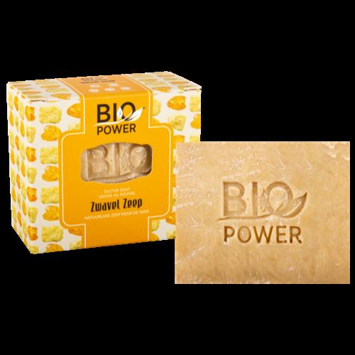 Biopower Biopower zwavel zeep 125g