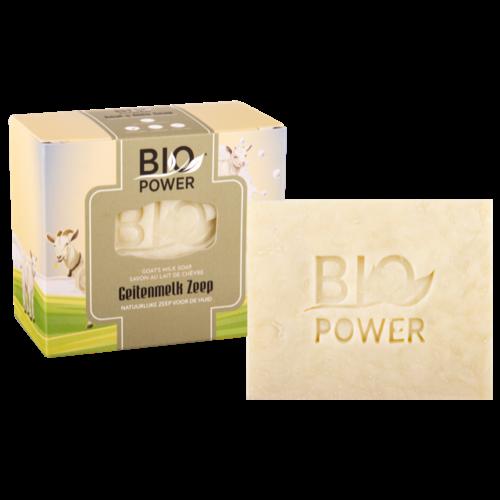Biopower Biopower geitenmelk zeep 125 g