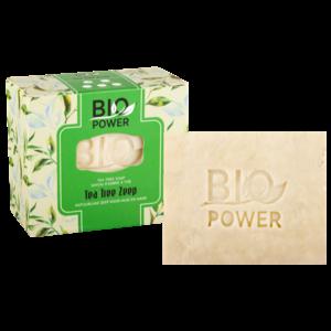Biopower Biopower tea tree zeep 125 g