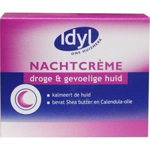 Idyl Idyl Droge & Gevoelige Huid - Nachtcreme 50ml