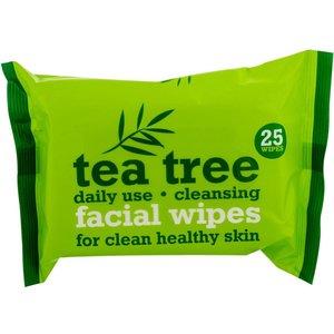 Xpel Xpel Tea Tree - Gezichtsdoekjes 25 Stuks