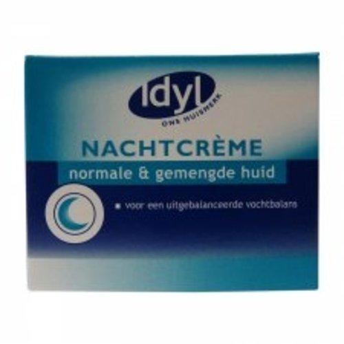 Idyl Idyl Normale & Gemengde Huid - Nachtcreme 50ml