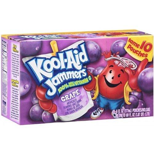 Koolaid Koolaid Jammers Grape - Frisdrank 10x177ml
