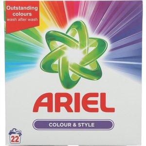 Ariel Ariel Colour & Style - Wasmiddel 22 Wasbeurten 1430g