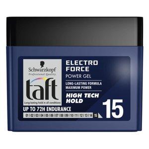 Schwarzkopf Schwarzkopf Taft Electro Force Hogh Tech Hold 15 - Haargel 250ml