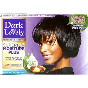 Dark & Lovely Dark & Lovely Superior Moisture Plus - No Lye Relaxer Kit Regular - Normal Hair