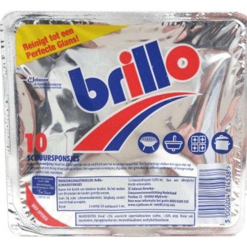 Brillo Brillo - Schuursponsjes 10 Stuks