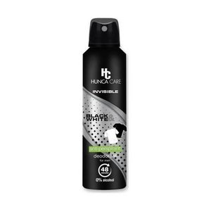 Hunca Hunca Care Men Invisible Black & White - Deodorant Spray 150ml