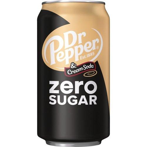 Dr.Pepper Dr.Pepper Zero Sugar Cream Soda - Frisdrank 355ml