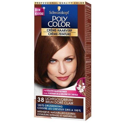 Poly Color Poly color haarverf 38 lichtgoudbruin