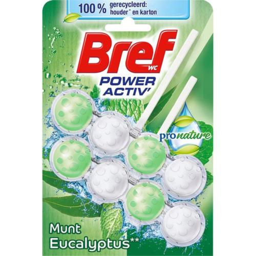 Bref Bref Power Activ Eucalyptus - Toiletblok 2x50g