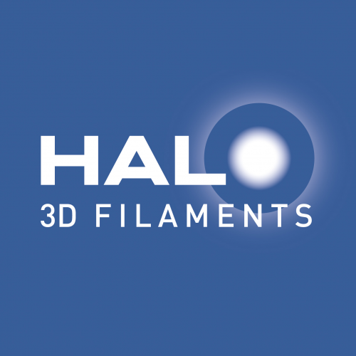 HALO 3D filaments is high gloss polymeer in exclusieve kleuren