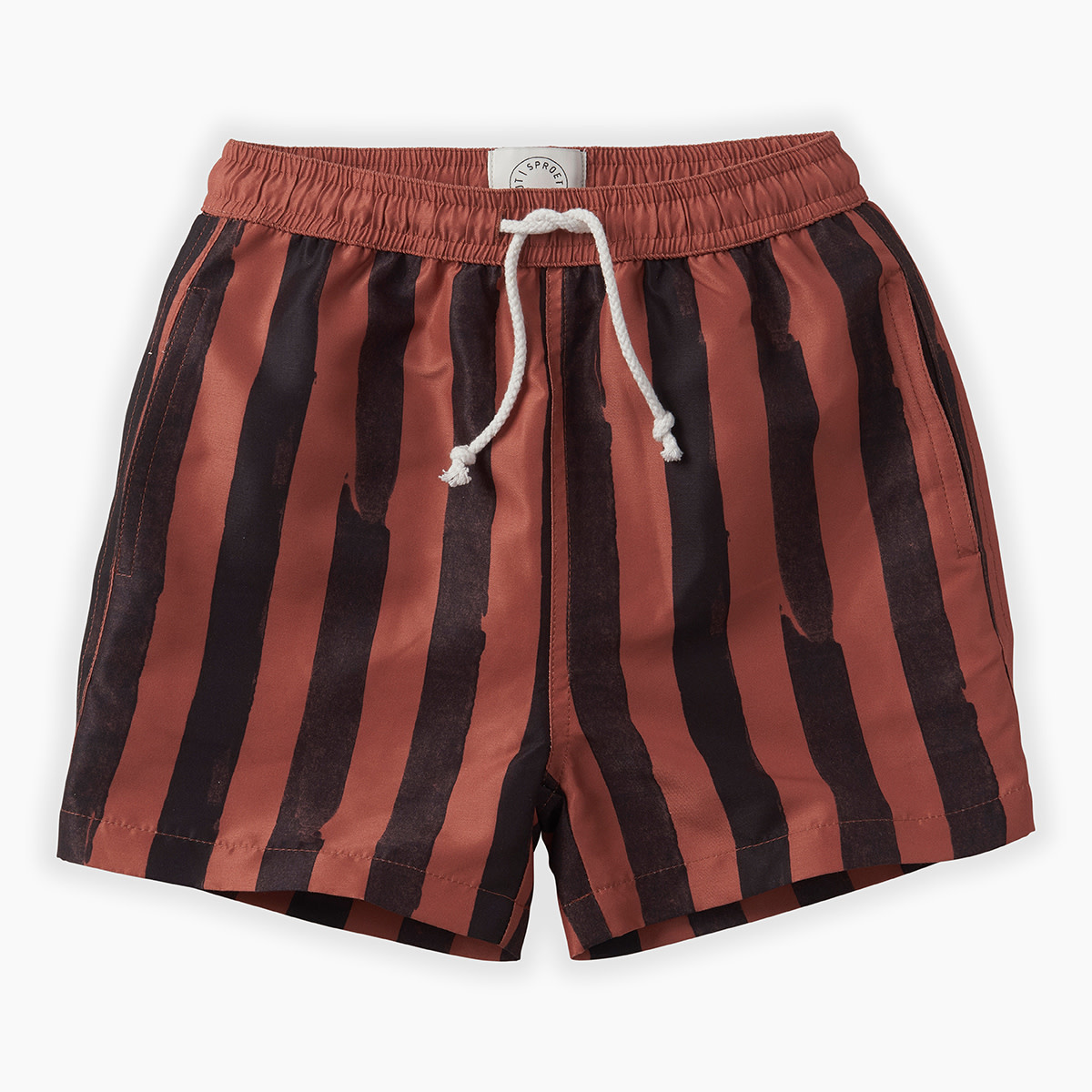 Sproet & Sprout Sproet & Sprout - Swim Short Painted Stripe