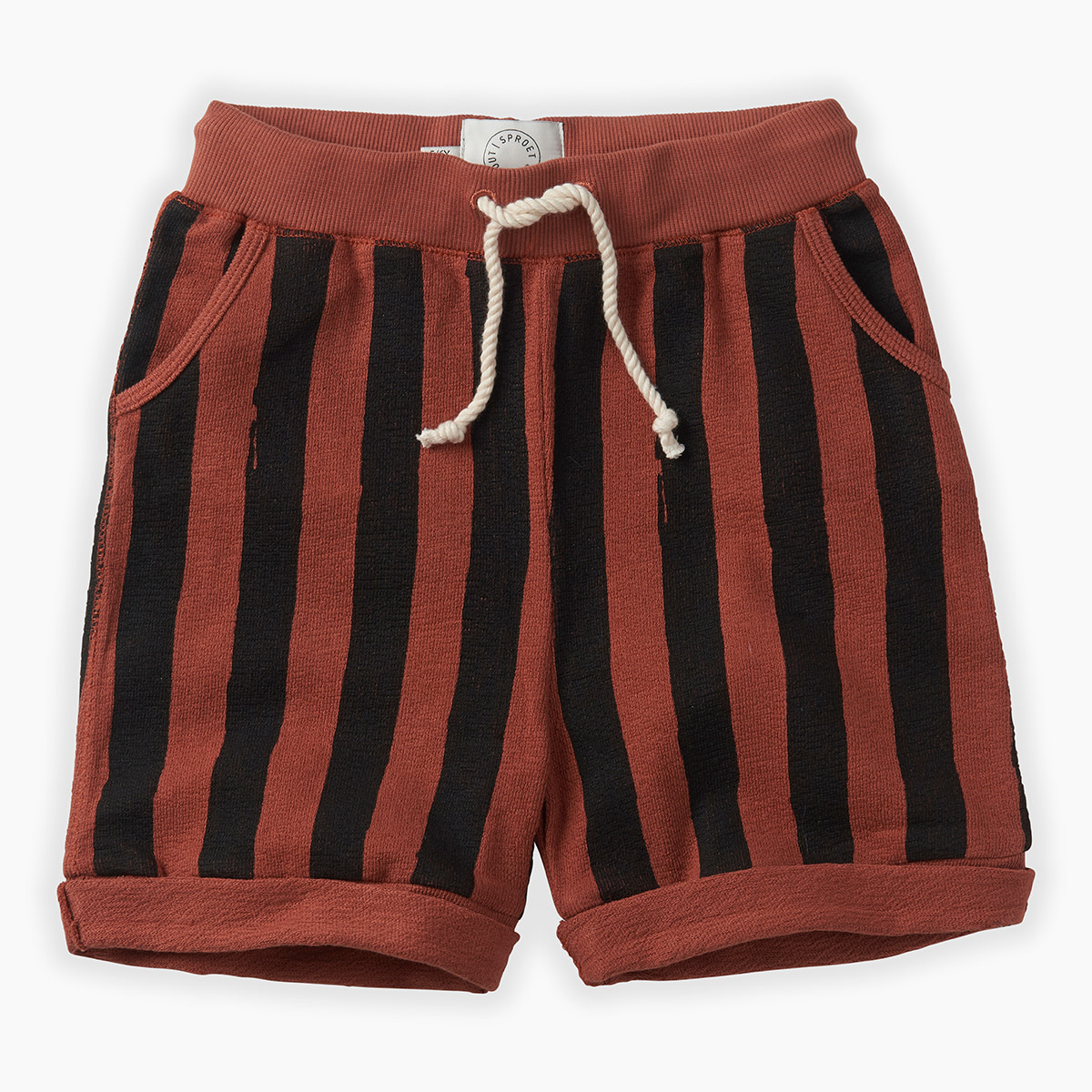 Sproet & Sprout Shorts painted stripe - Sproet & Sprout