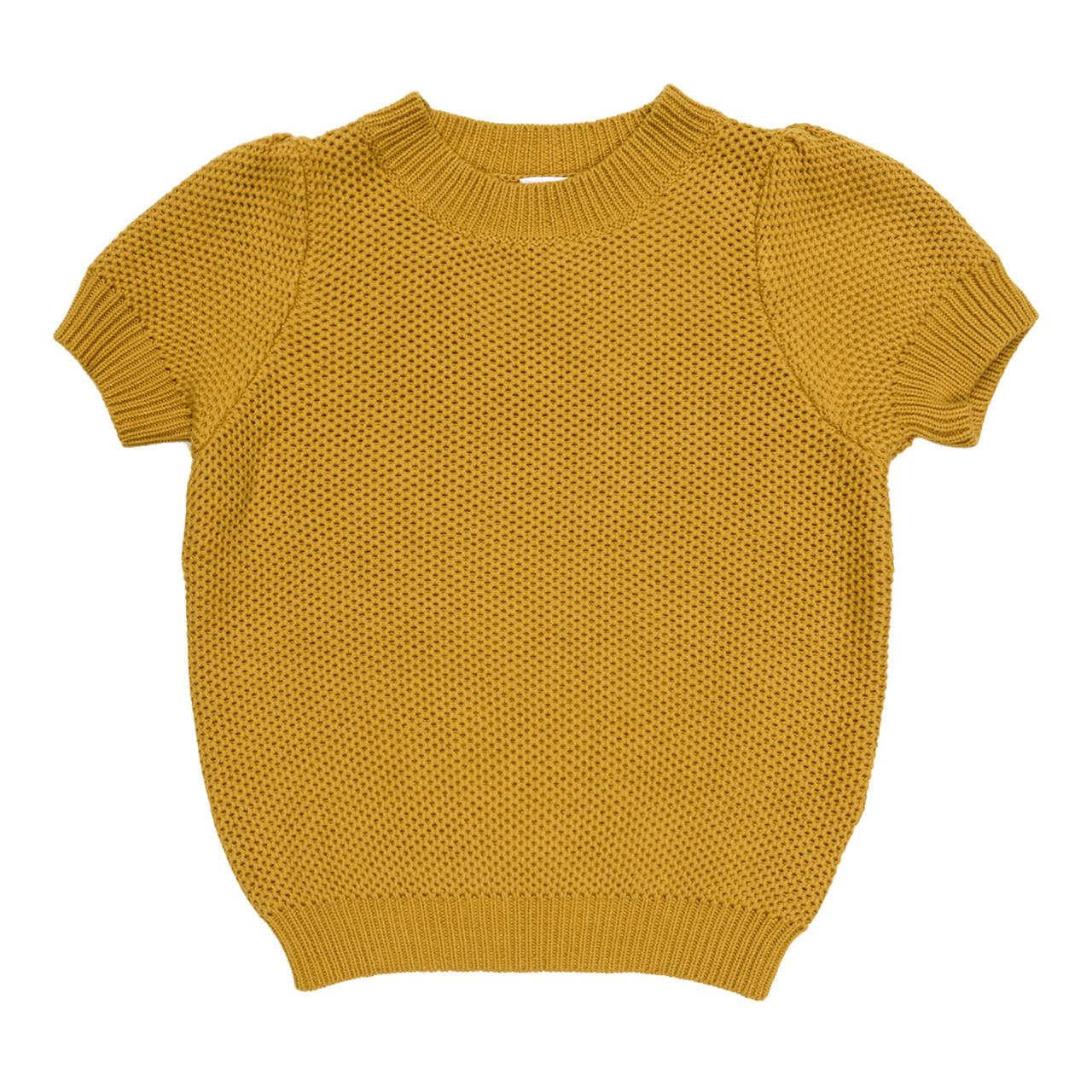 Maed For mini Maed for Mini - Golden Grasshopper Knit Top