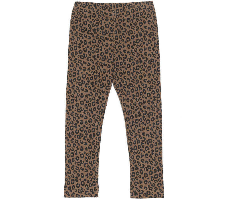 Mead For Mini - Chocolate Leopard Legging