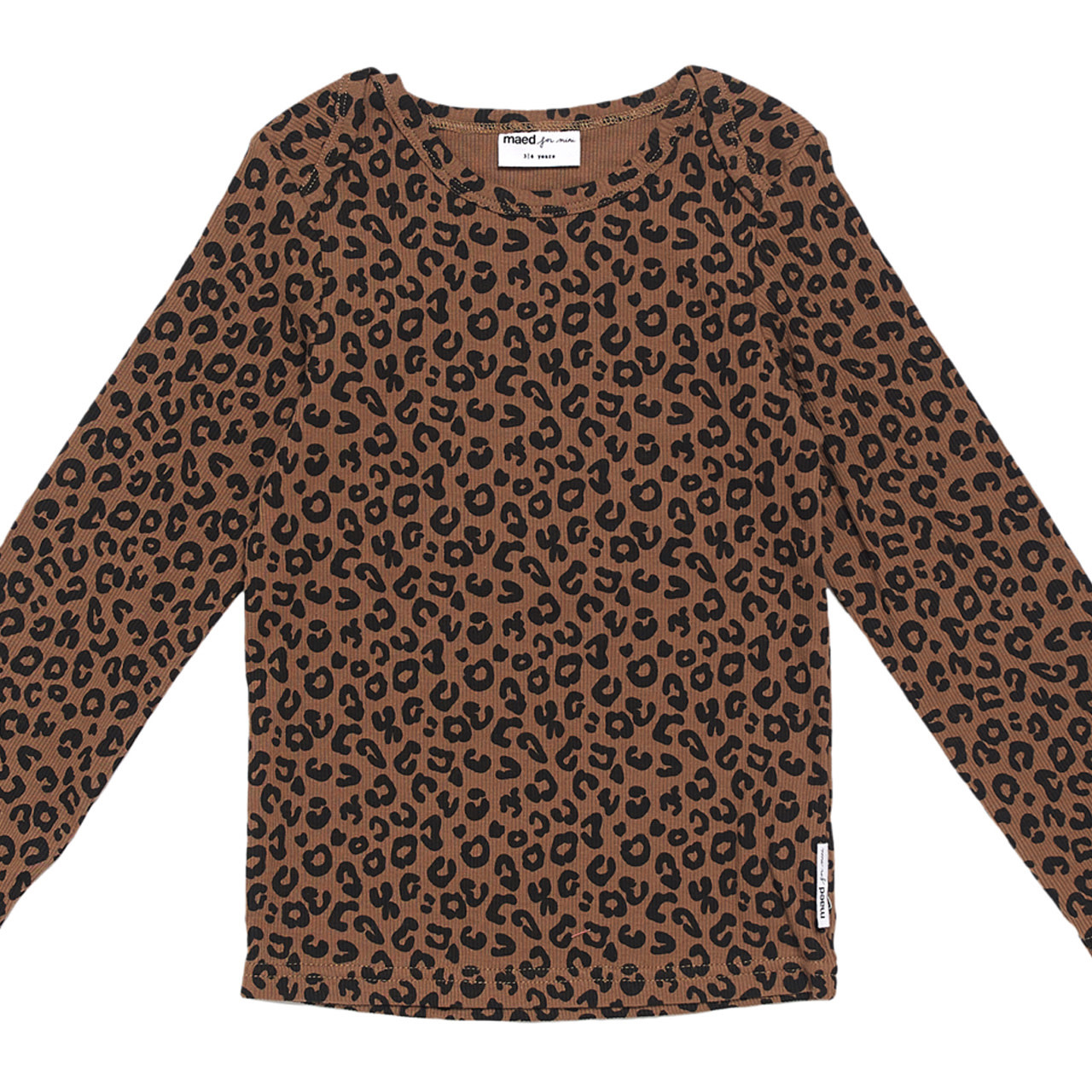 Maed For mini Mead For Mini - Chocolate Leopard Longsleeve