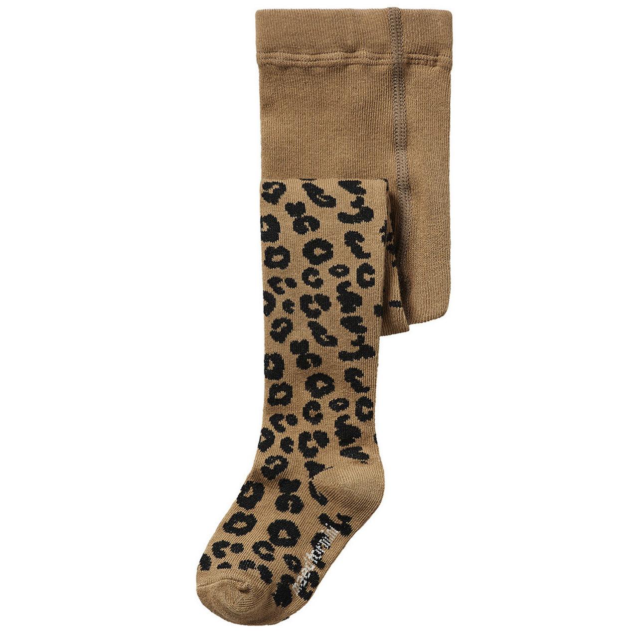 Maed For mini Mead For Mini - Brown Leopard Tights