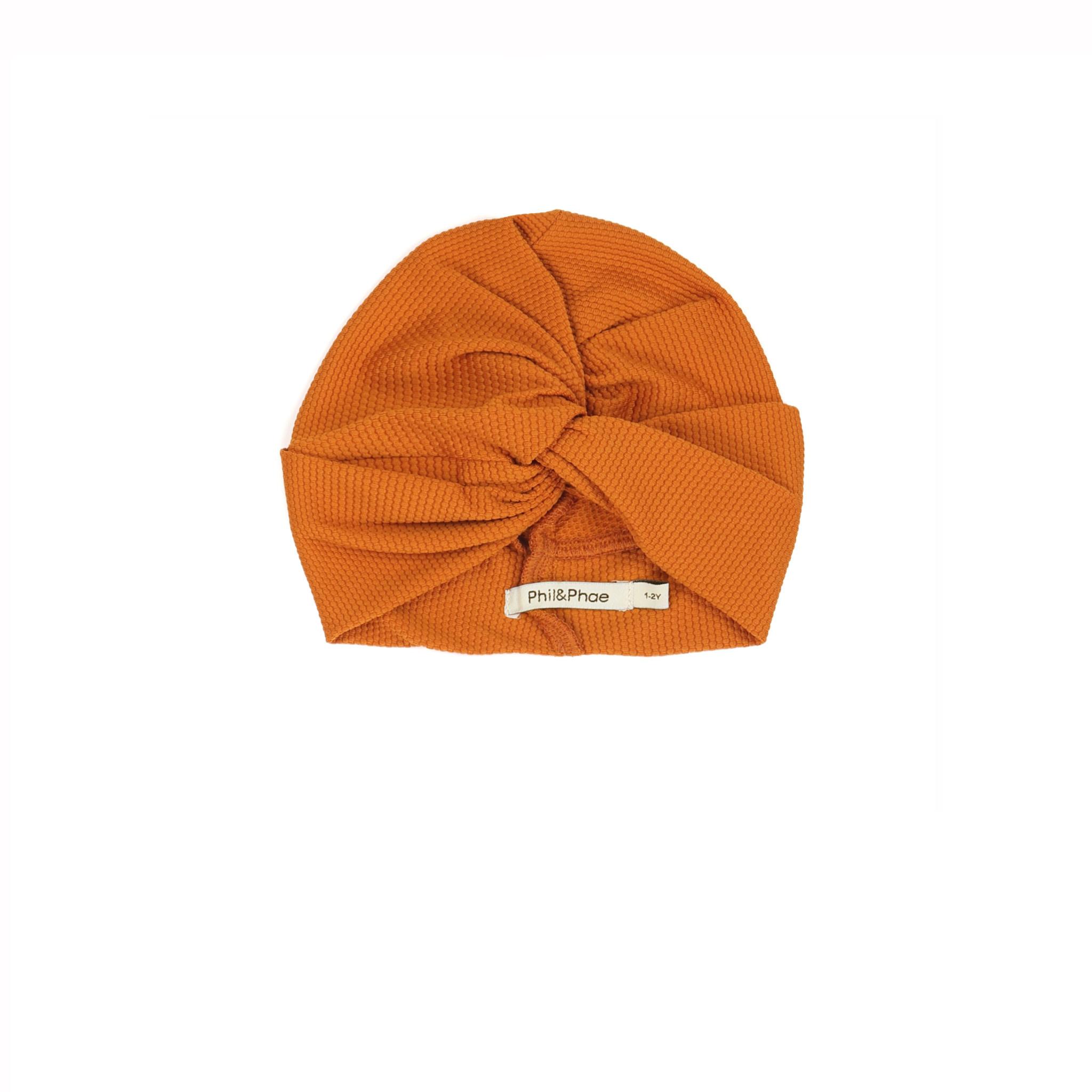 Phil&Phae Phil & Phae - UV Bonnet Tangerine