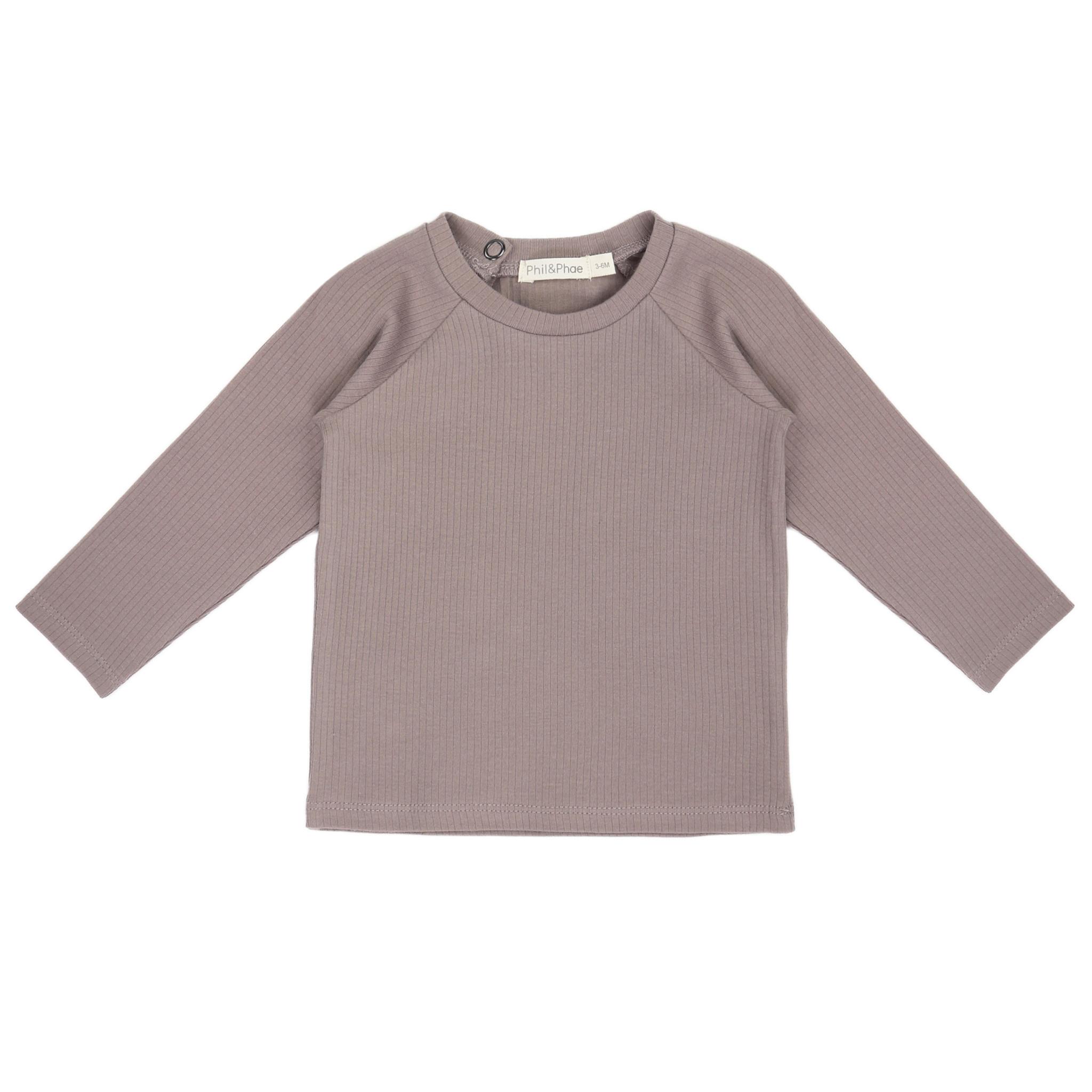 Phil&Phae Phil & Phae -Baby Rib T-shirt Long Sleeves