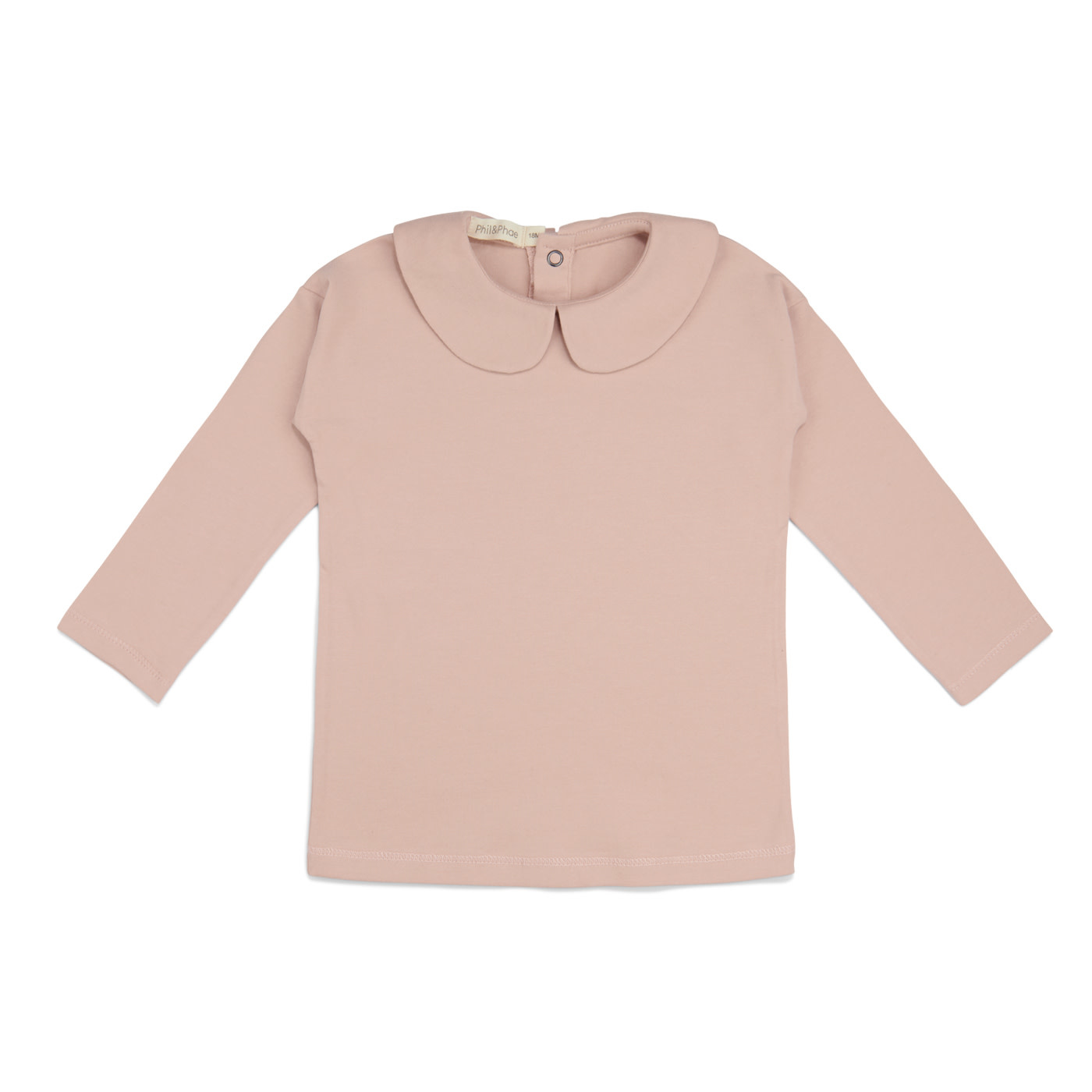Phil&Phae Phil & Phae - Collar Tee Longsleeve Blush