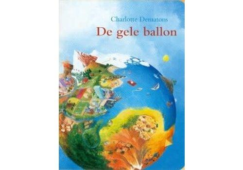 De gele ballon - (karton ) prentenboek