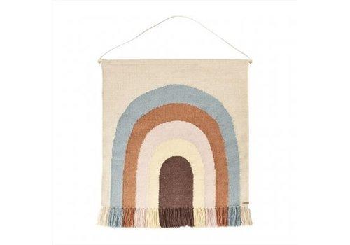 Oyoy OYOY - follow The rainbow wall rug
