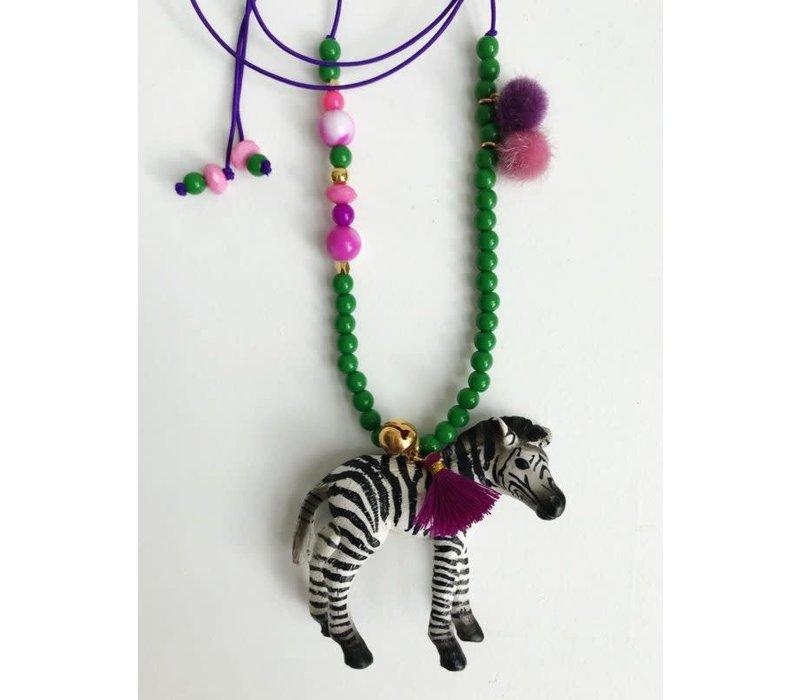 Ketting Zizi de Zebra - Bymelo