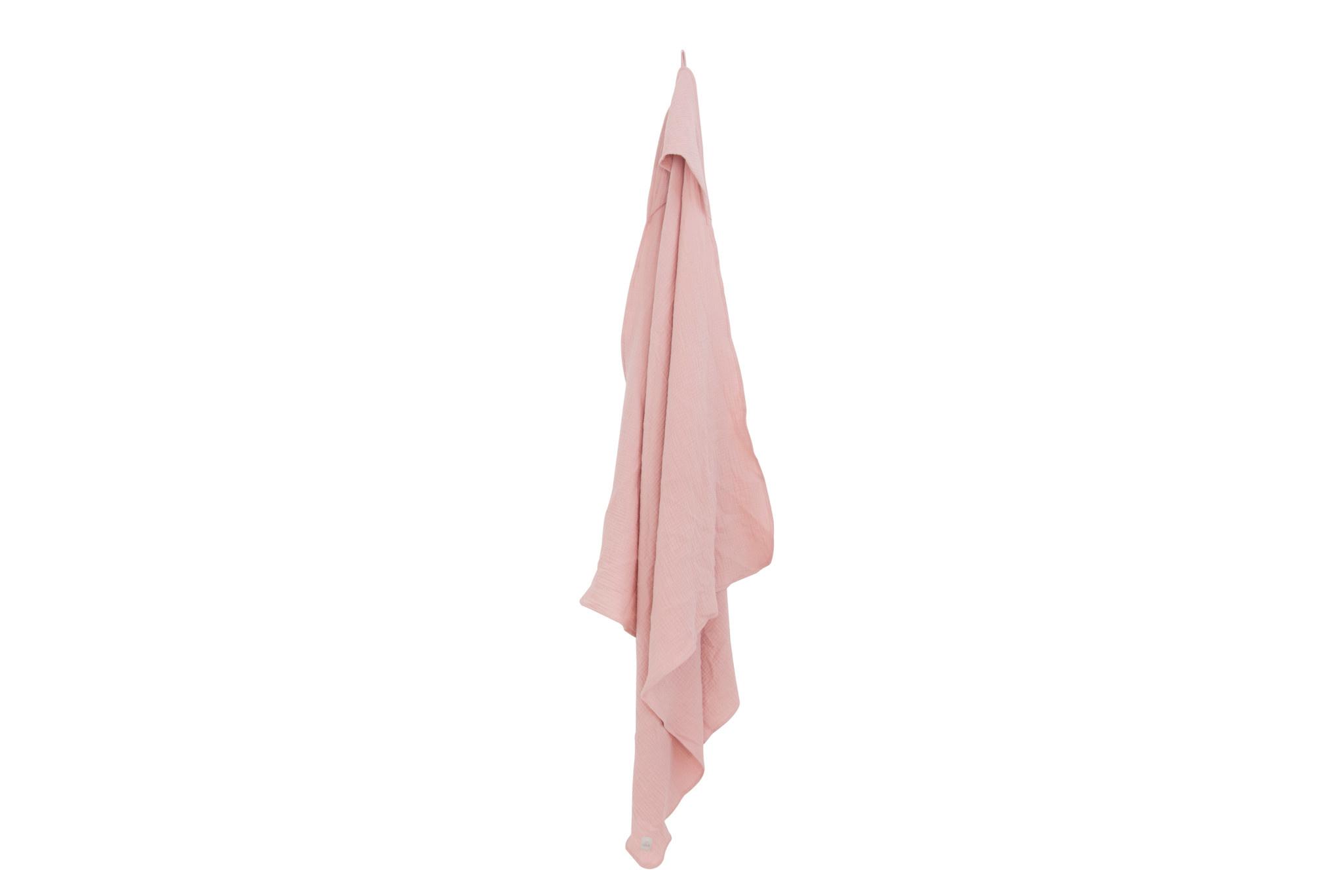 Nanami Nanami - bathcape mousselin pink