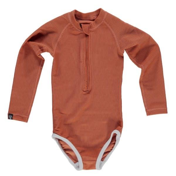 Beach & Bandits Beach & Bandits - Ribbed swimsuit Earth