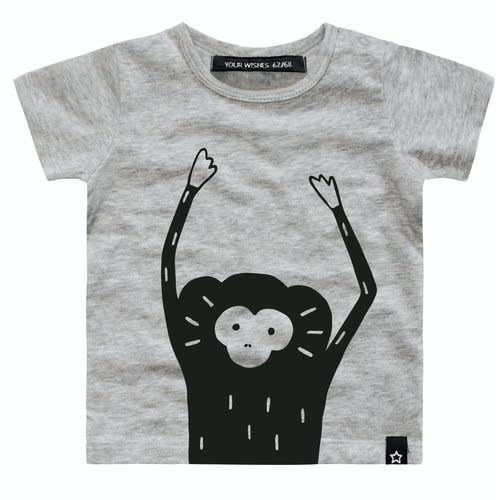 Your Wishes Your Wishes - Monkey Face T-shirt