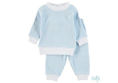 Feetje Feetje -  Pyjama wafel azuur