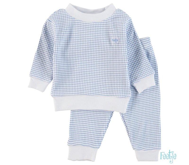 Feetje -  Pyjama wafel Blue