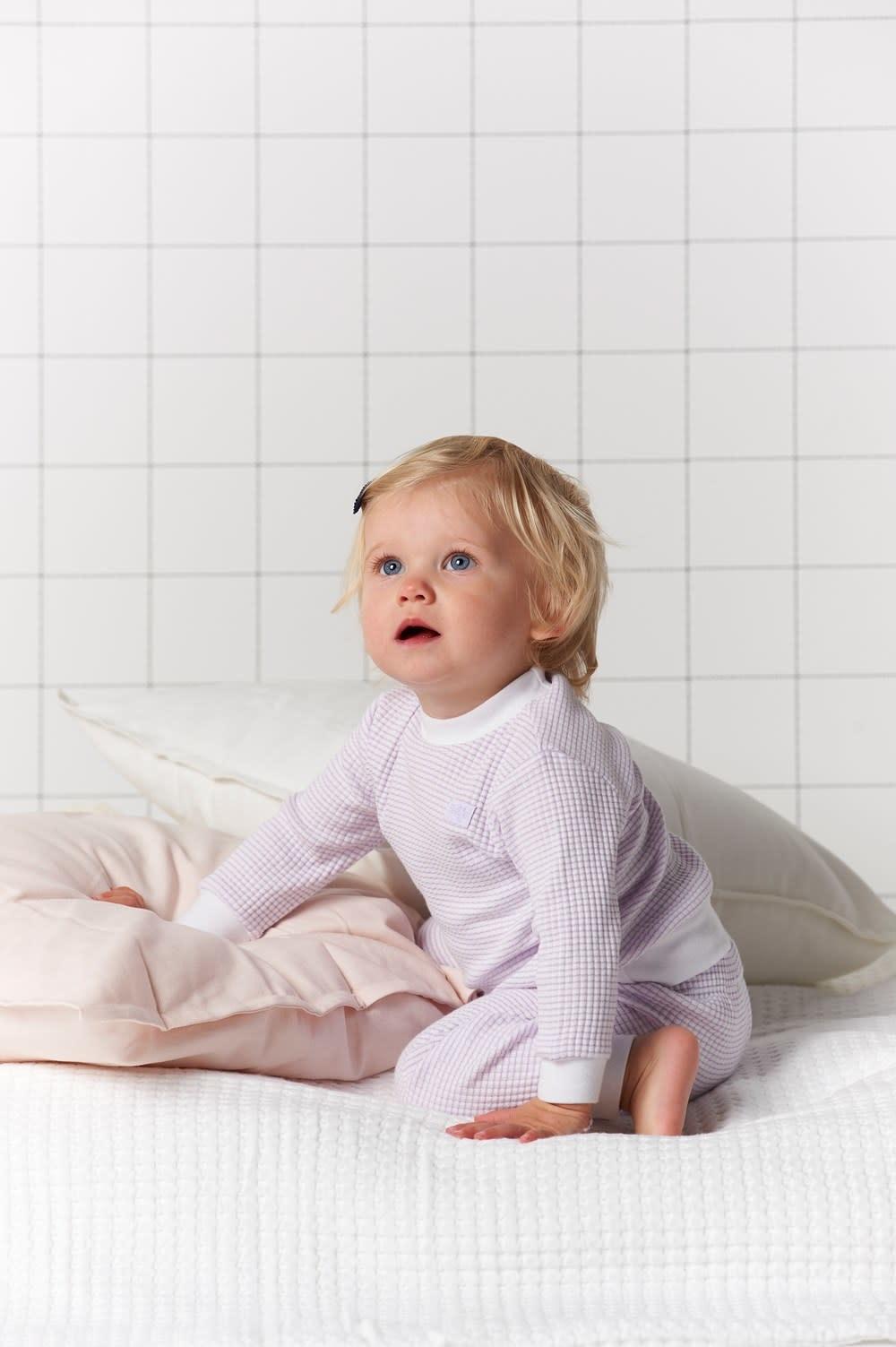 Feetje Feetje -  Pyjama wafel Lila