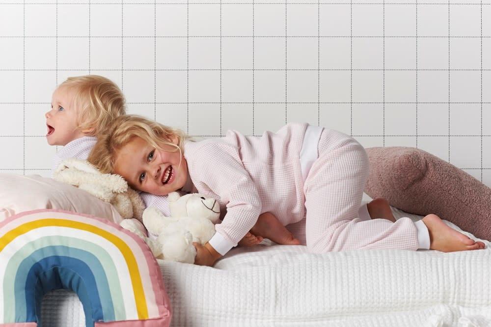 Feetje Feetje -  Pyjama wafel Zalm