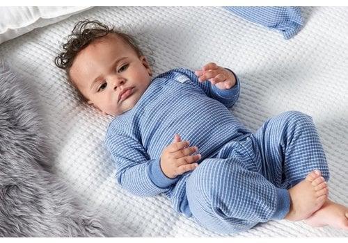 Feetje Feetje - pyjama wafel melange Blue