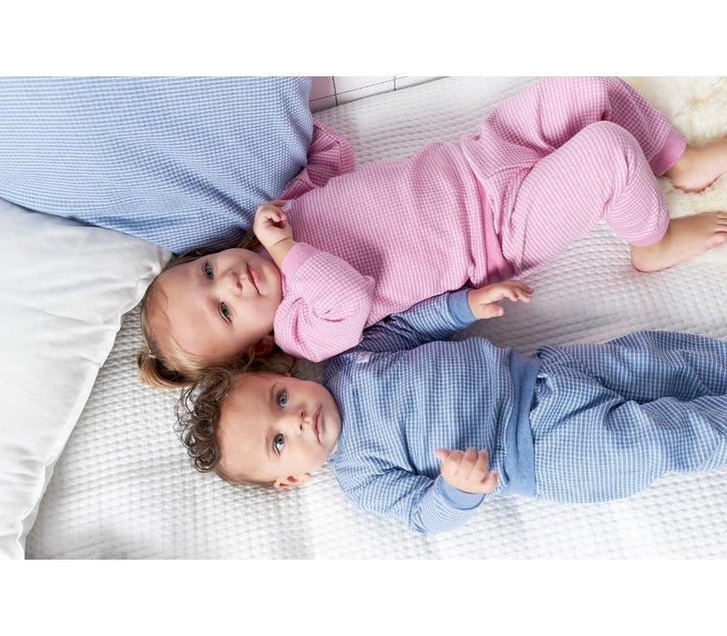 Feetje - pyjama wafel melange Blue