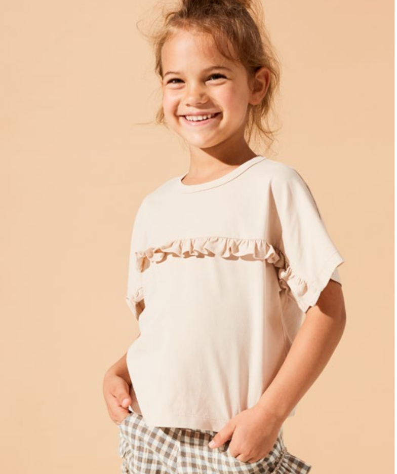 Kids on the moon Afterglow frill blouse - Kids on the Moon