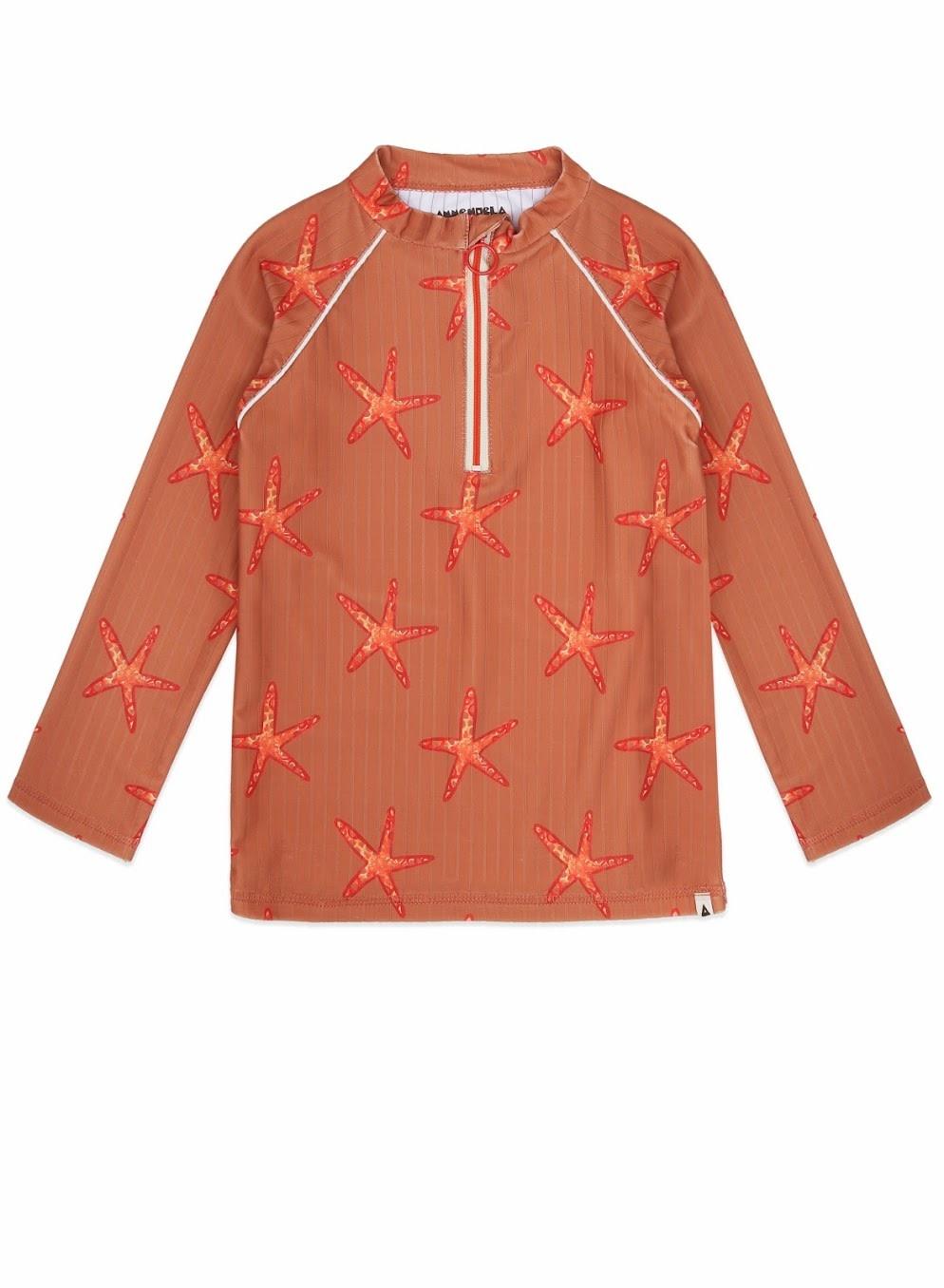 Ammehoela Ammehoela - Swim shirt Dorian Starfish