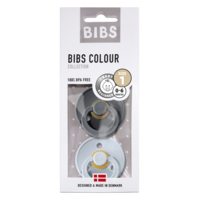 Bibs T1 - 2pack Iron/Baby Blue