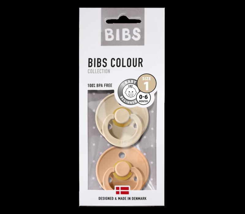 Bibs T1 - 2pack Peach/Vanilla