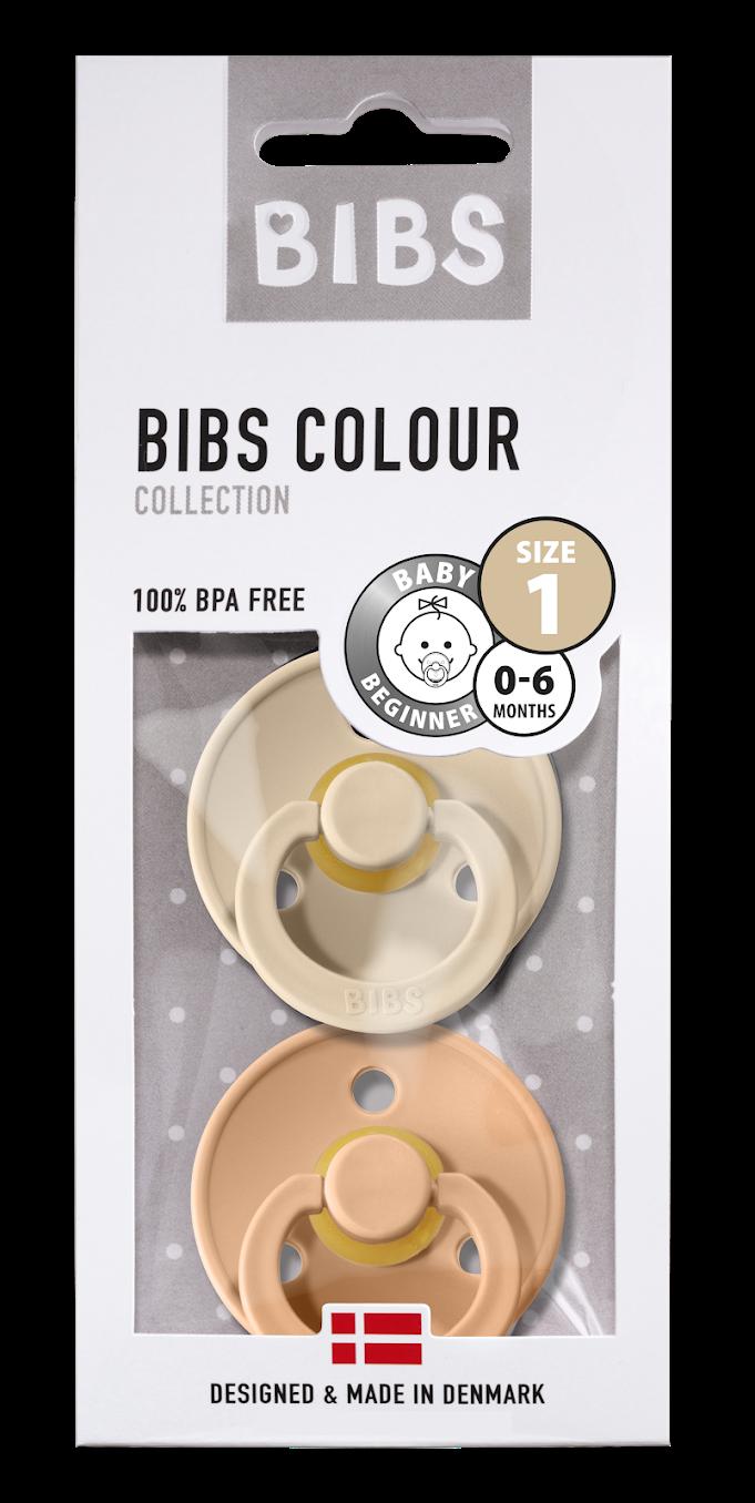 Bibs Bibs T1 - 2pack Peach/Vanilla