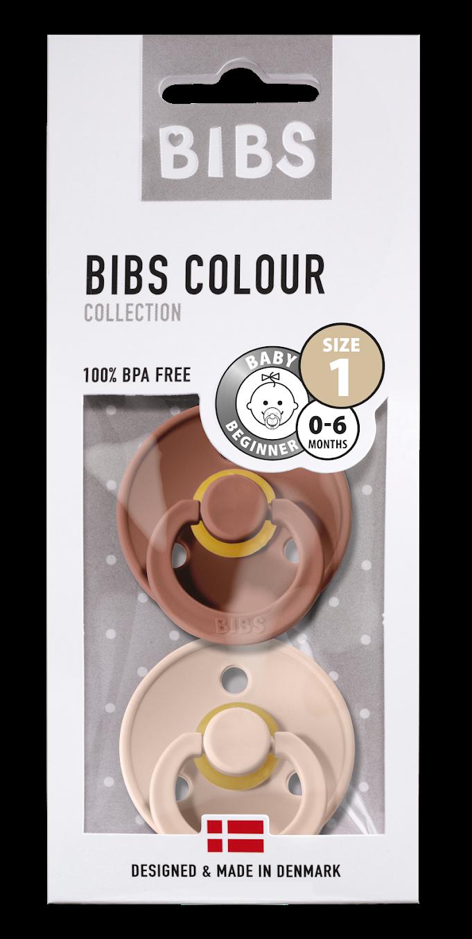 Bibs Bibs T1 - 2pack Woodchuck/Blush