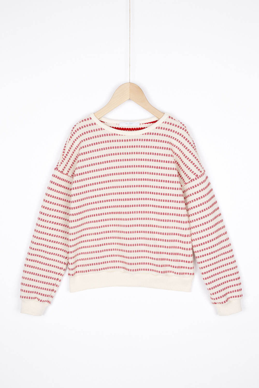 By-Bar Bybar - Becky Stripe Sweater Salsa