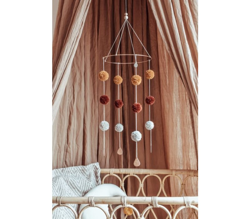 Cotton Design - Pompom Mobile
